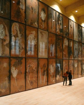 ANSELM KIEFER - saw palm sunday at tate modern with my husband. blew me away