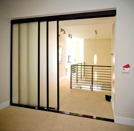 Sliding Door Partition Wall Of Wall Slide Doors 038 For The Home Pinterest Home And