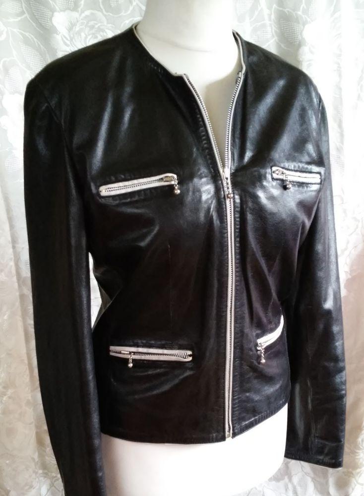 #twitter#tumbrl#instagram#avito#ebay#yandex#facebook #whatsapp#google#fashion#icq#skype#dailymail#avito.ru#nytimes #i_love_ny     SYLVIE SCHIMMEL of exclusive black jacket with white inserts size 40 #SYLVIESCHIMMEL #BasicJacket
