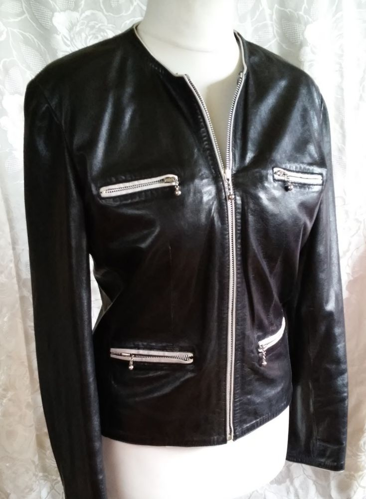 #twitter#tumbrl#instagram#avito#ebay#yandex#facebook #whatsapp#google#fashion#icq#skype#dailymail#avito.ru#nytimes #i_love_ny     SYLVIE SCHIMMEL of exclusive black jacket with white inserts size 40 #SYLVIESCHIMMEL #BasicJacket