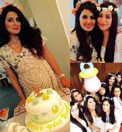 Geeta Basra's baby shower pics are ADORABLE!