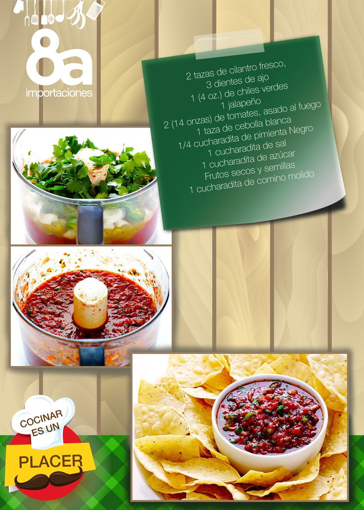 Hoy compartimos contigo una receta diferente, salsa al estilo restaurante, todo lo puedes hacer con los implementos y utensilios de 8a Importaciones, te esperamos. Estamos ubicados en: Manuel Vega 8-48 y Mariscal Sucre.