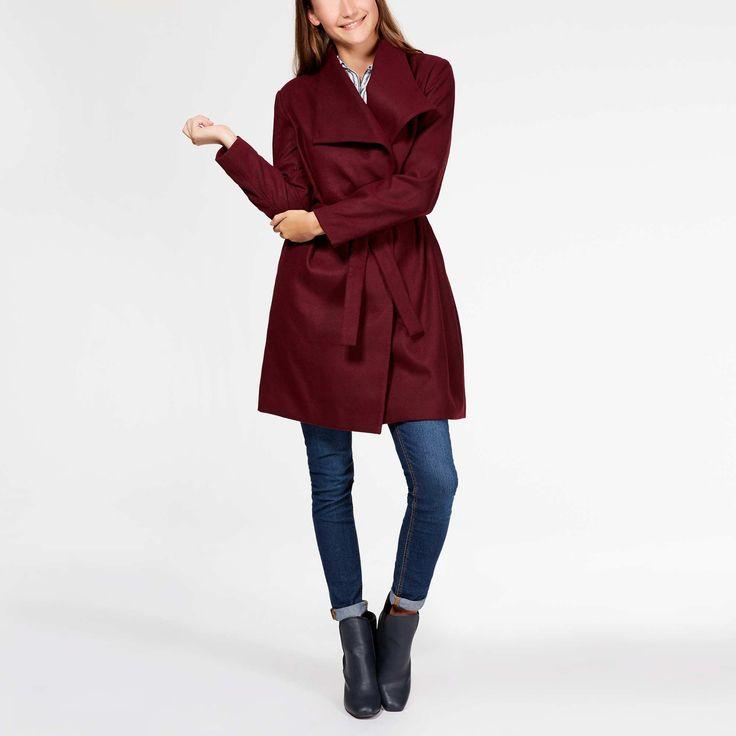 Manteau poncho femme kiabi