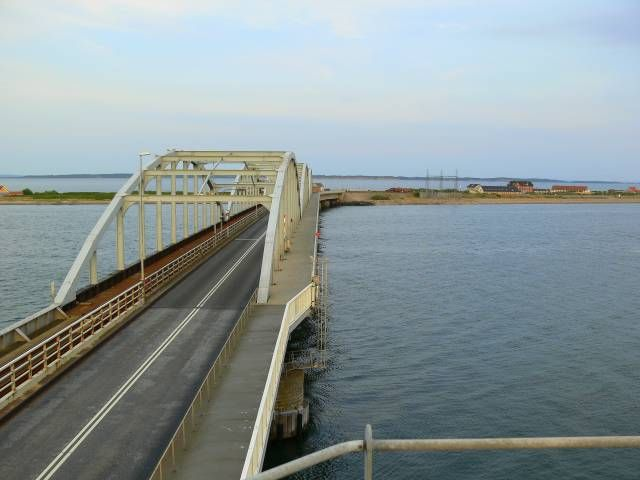 The Bridge seen from north  - form the watch tower.