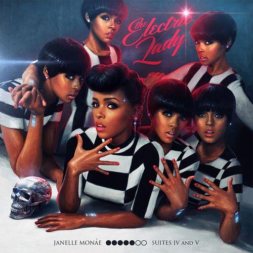 Janelle Monáe, The Electric Lady Album Cover