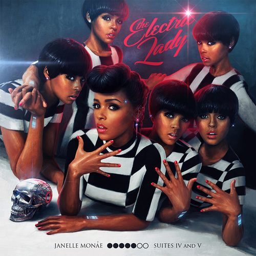 Janelle Monáe, The Electric Lady Album Cover