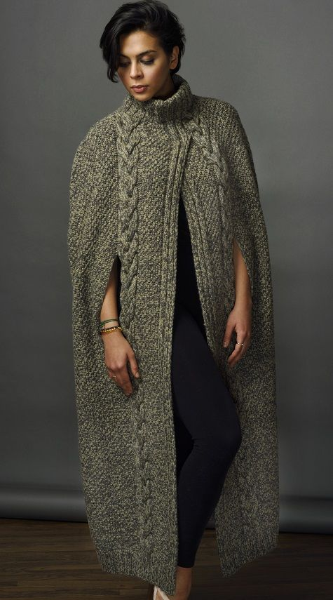 Hania by Anya Cole MULLEAVY CAPE Fall 2017