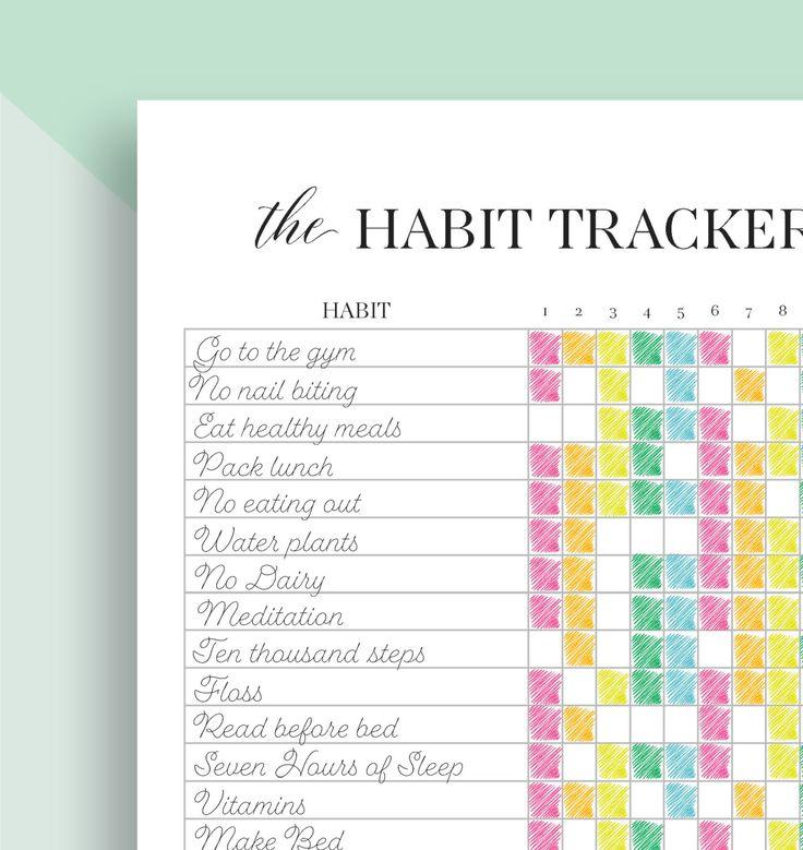 39 best Bullet Journal Trackers images on Pinterest   Bullet journal ...