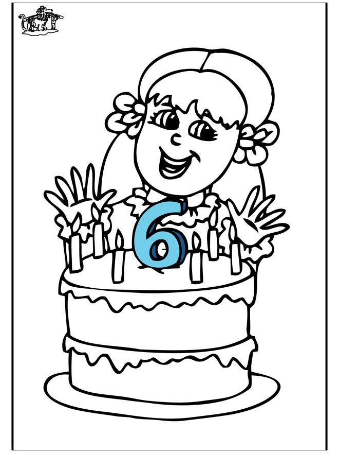 hoera 6 jaar verjaardag