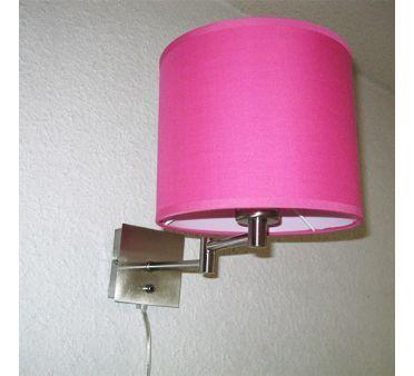 Lampe applique Articulée Nuit Paisible Rose