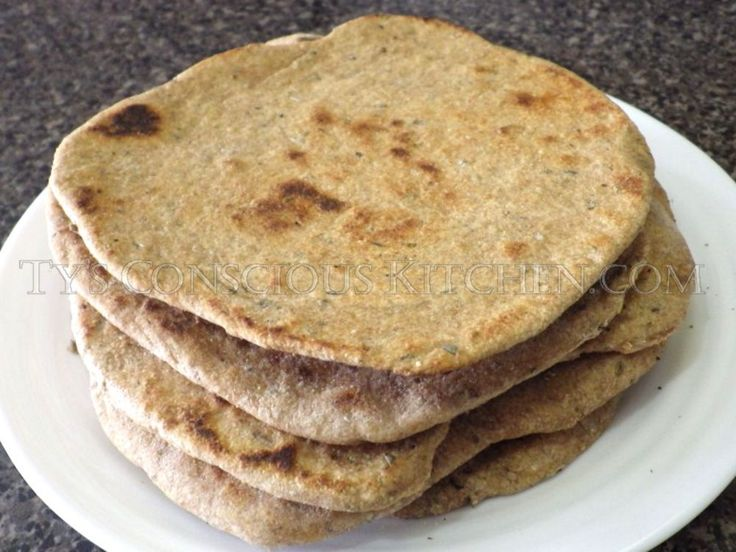 Dr. Sebi Alkaline Electric Flatbread Recipe