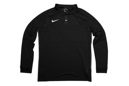 Nike Dri Fit L/S Referee Top Lay down the law without breaking too much of a sweat as you keep up with the pace of the game in this Nike Dri-Fit L/S Referee Top in Black and White.This long sleeved referee top with a button up po http://www.MightGet.com/february-2017-2/nike-dri-fit-l-s-referee-top.asp