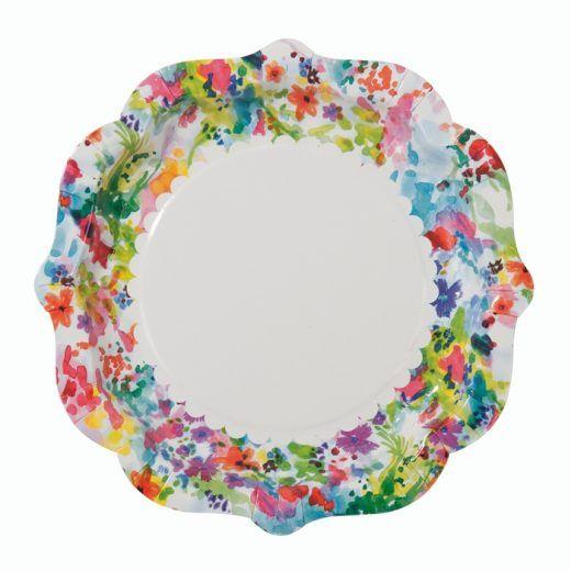 Floral Fiesta bordjes