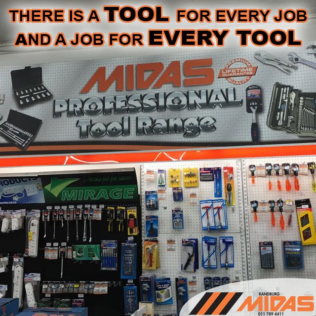 At Randburg Midas there is a #tool for every job and a job for every tool. We are here to help you find that right tool