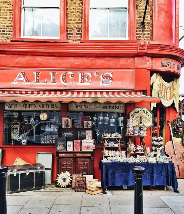 Next up in our #TravelersChoice celebration of London is this photo of Alices Antiques on Portobello Road from @yaroslava_kirichok. She says Portobello Road is synonymous with the unique the one-off. Its reputation boosted internationally by the film Notting Hill. On Saturdays it is home to Portobello Road Market one of Londons notable street markets. It's the place for anyone who wants to find something really unique or just loves a great bargain. To share your favorite photos of London…