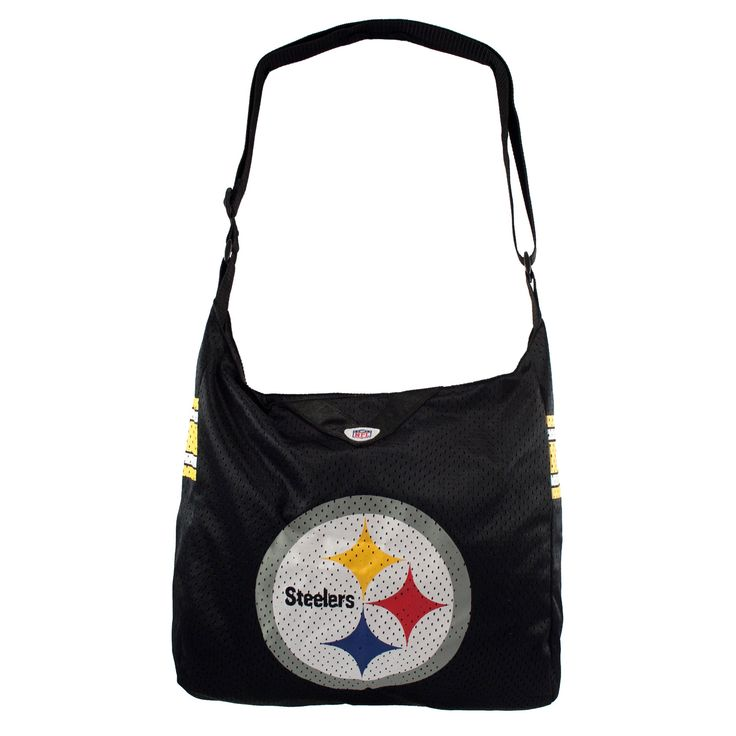NFL Pittsburgh Steelers Team Jersey Tote, Women's, Size: Large
