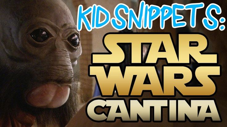 Lucasfilm flew us out to film in their Star Wars Cantina set for Star Wars Day.  It was a blast!