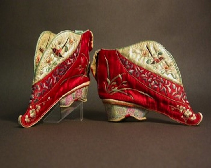 Lotus Shoe,  Mid 10th Century to Early 17th Century.