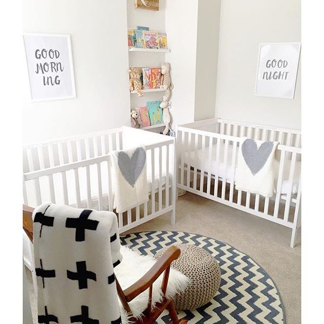 17 best ideas about twin nurseries on pinterest girls twin bedding twin girl nurseries and. Black Bedroom Furniture Sets. Home Design Ideas