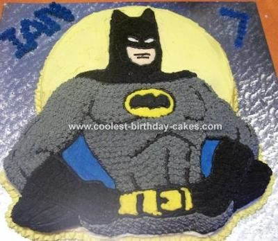Batman Shaped Cake Pan