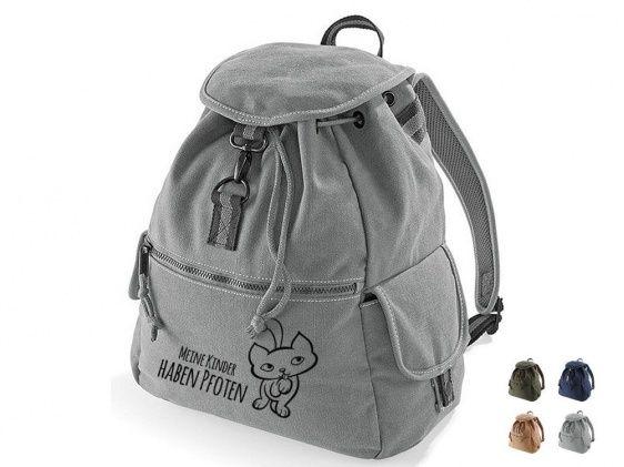 Kollektion -Meine Kinder haben Pfoten-Rucksack: Meine Kinder haben Pfoten! 2.0 Katze