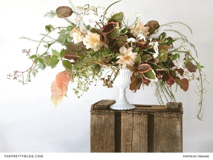 Create your own wild foraged flower arrangement for Create your own flower arrangement