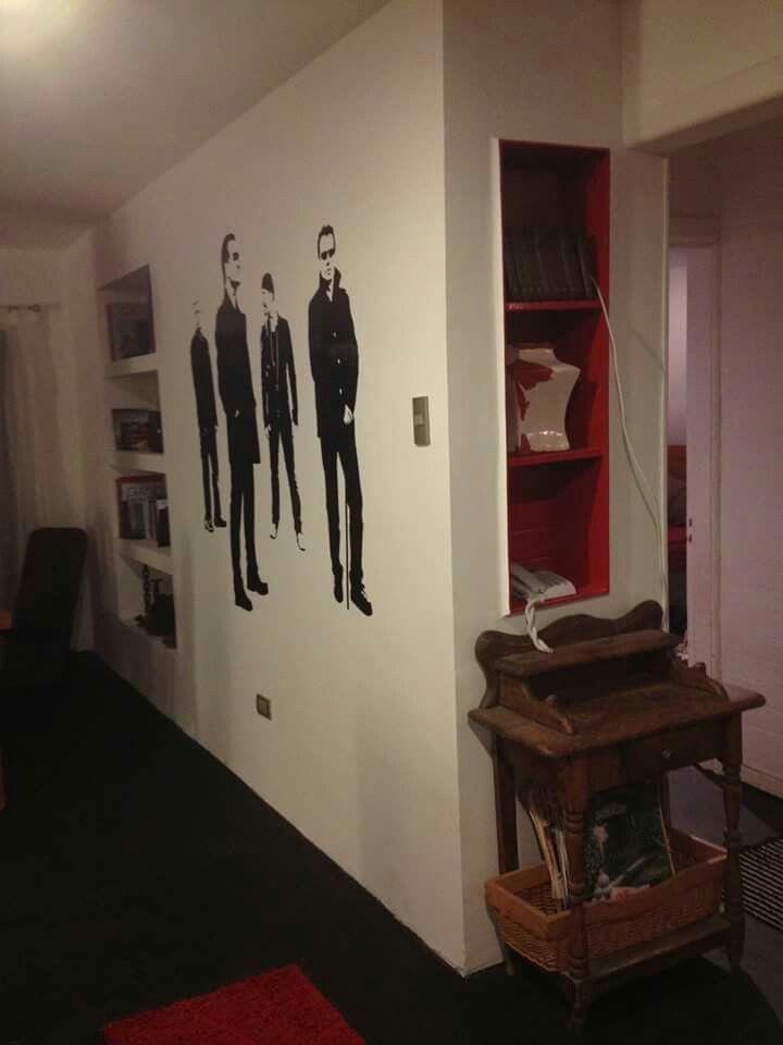 Muro decorado U2
