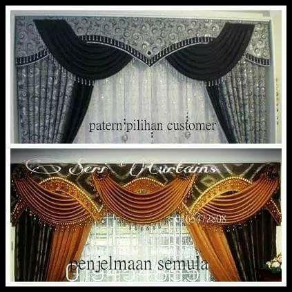 Langsir/ curtain