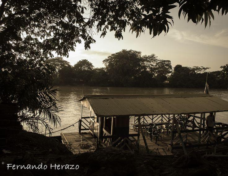 Atardecer en Río Sinú