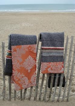 Ladak - Dekens van gerecycleerde materialen ♥♥♥ Ladak - blankets from recycled materials ♥♥♥ #dutchdesign #upcycle