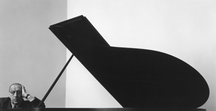 Portrait of Igor Stravinsky by Arnold Newman, 1946