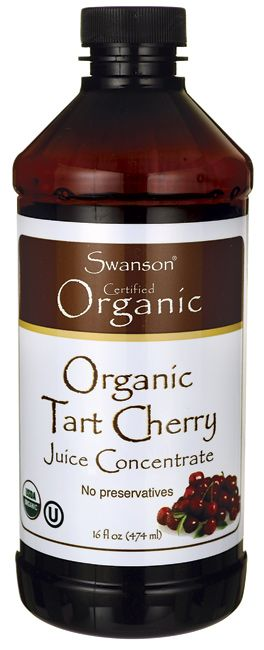 Swanson Organic Organic Tart Cherry Juice Concentrate 16 fl oz (474 ml) Liquid