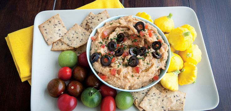 Roasted Garlic Cannellini Bean Dip |  Fresh Thyme