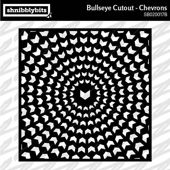 Bullseye Cutout  Chevrons