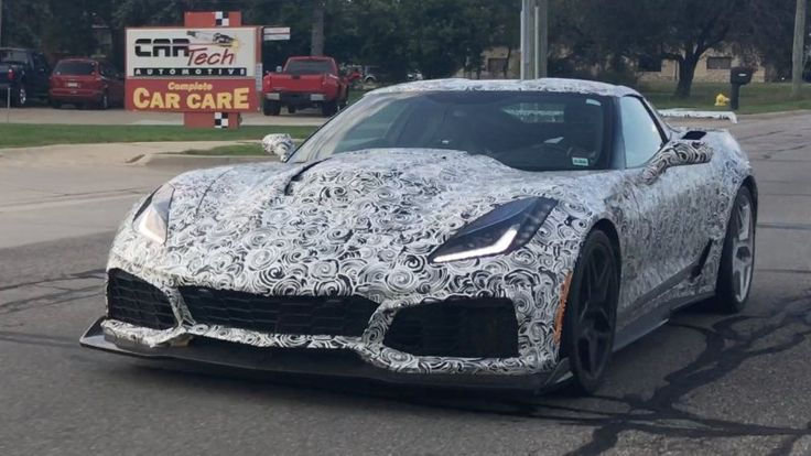 Here's an even better video of the new Chevy Corvette ZR1