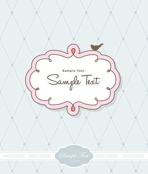 cute frame clip art cute vector frames set of 13 nice and cute vector