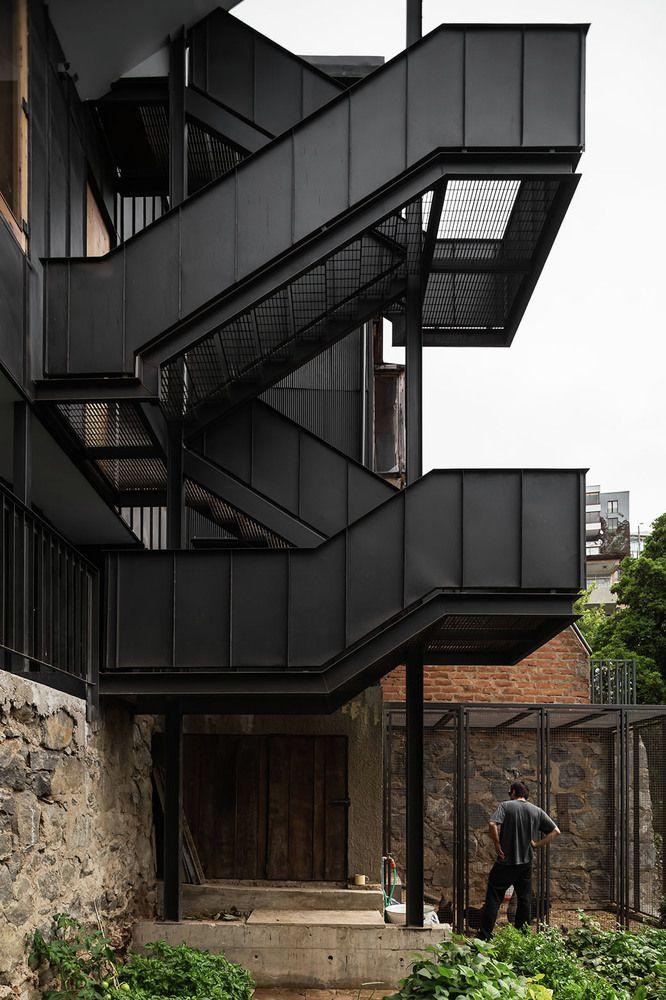 17 melhores ideias sobre escadas metalicas no pinterest for Casa design manzano