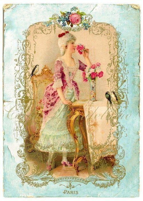 1000 images about vintage tocadores miniatura on - Laminas decorativas vintage ...