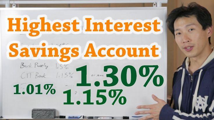 Chasing the Highest Interest Savings Account   BeatTheBush