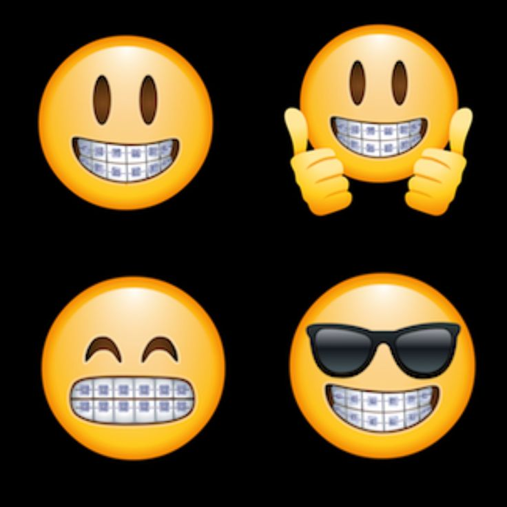 Emoji smiles. #DeltaDental #Braces …