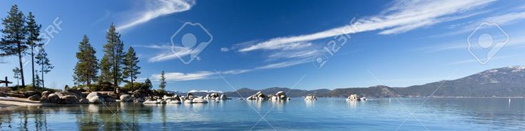 Lake Tahoe Panorama Lizenzfreie Fotos, Bilder Und Stock Fotografie. Pic 16356096.