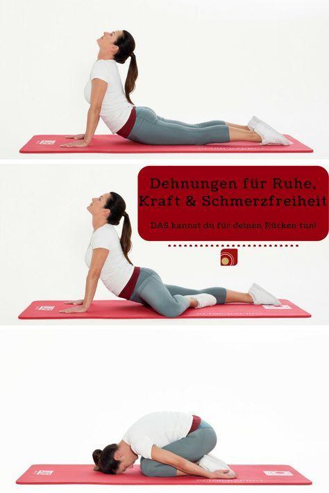 Rückenschmerzen: Sofort-Übungen und Tipps von | Psychologie | Pinterest