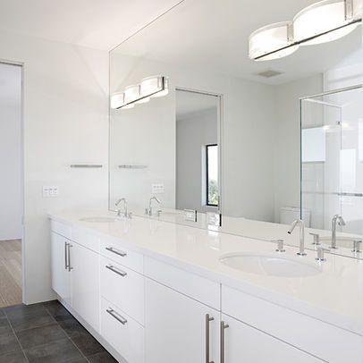 white tile or no tile