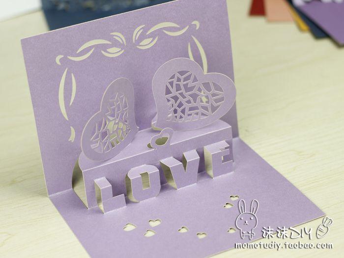 63 best images about 3D cards – 3d Valentine Cards