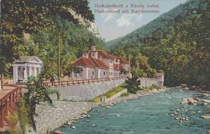 Băile Herculane - 1910