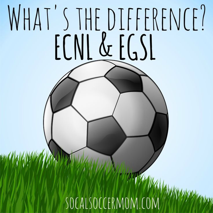 Difference between ECNL and EGSL Soccer, Soccer ball