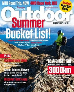 Australian Geographic Cover