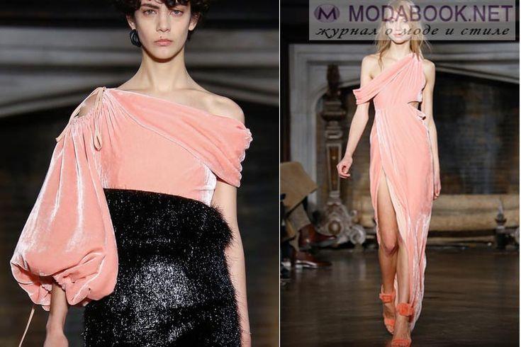 Что будет модно осенью зимой 2016-2017: розовый бархат