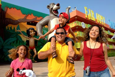 Disney's Pop Century Resort blends nostalgia for year gone by with value prices of a bygone era.