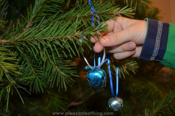 I believe!!...  Polar Express Craft - Christmas Bell Ornament..  Fun to make with the kids!
